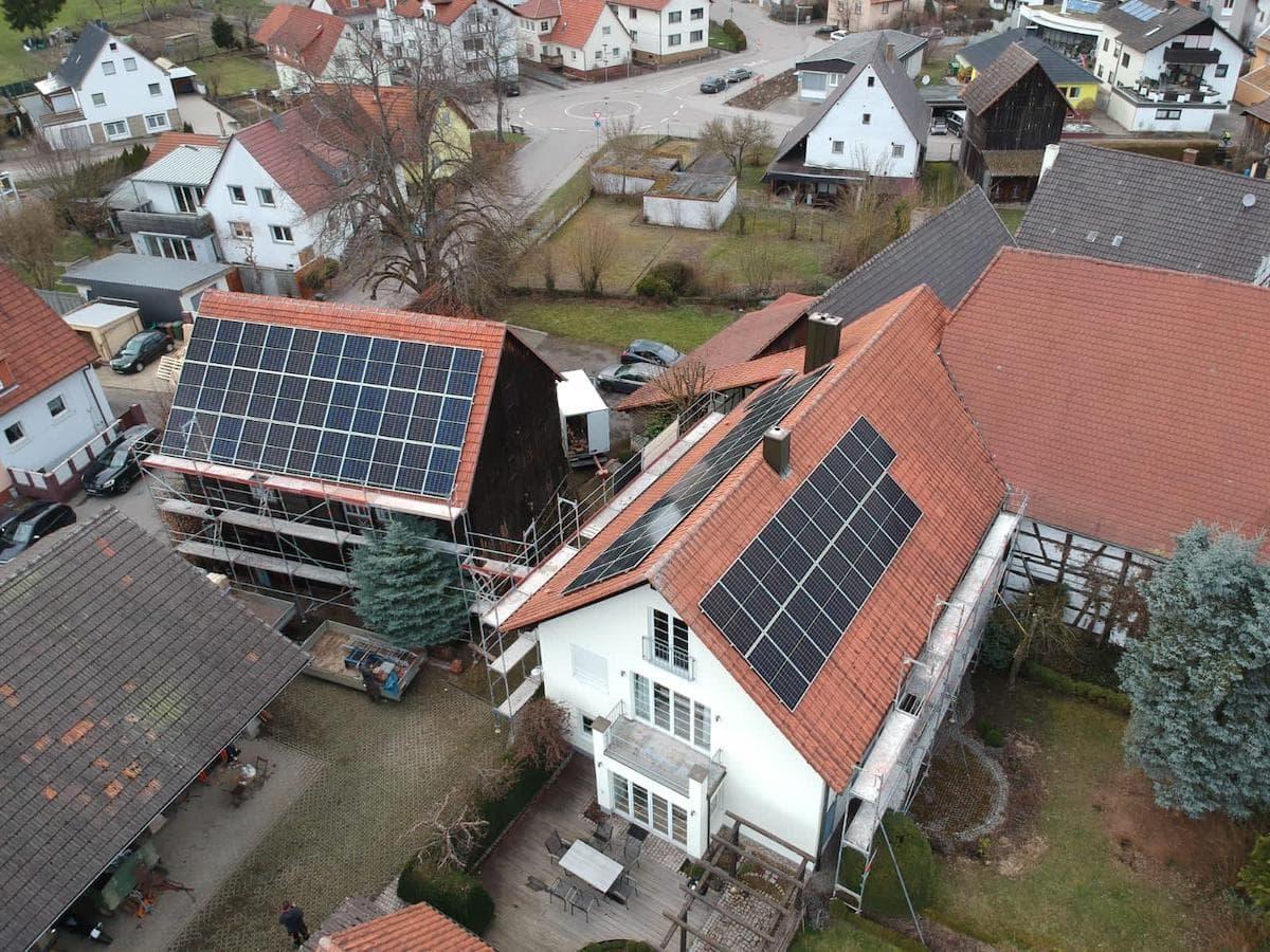 Photovoltaik in Sinsheim Ullmann