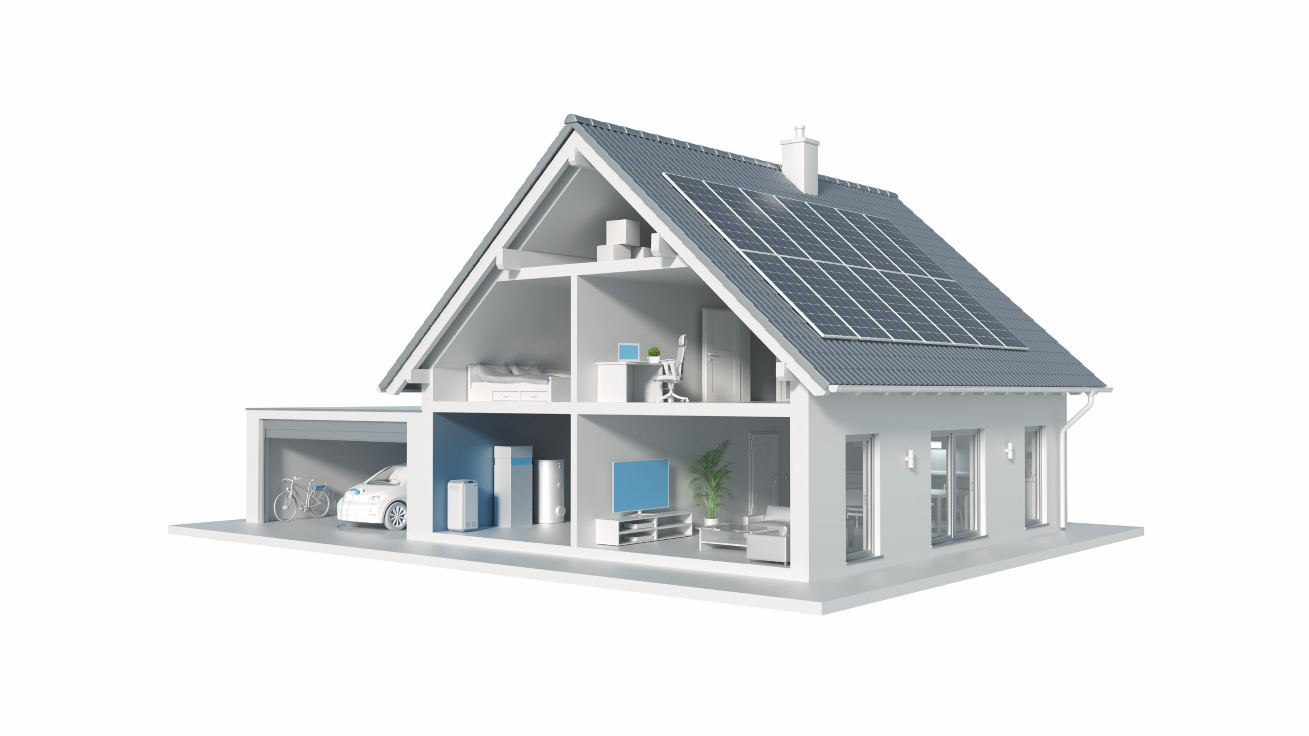 Senec Haus Solar mit Wallbox